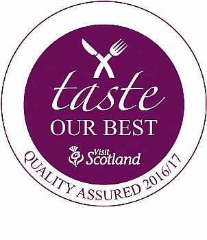 Taste our best - visit scotland award